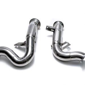 ARMYTRIX  Optional catalytic converter to suit Macan S/GTS  2014-2018 3.0 litre V6 twin Turbo  Macan turbo  2014-present  3.6 litre V6 twin turbo