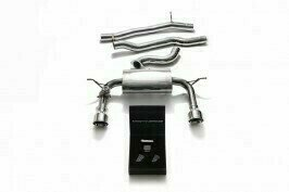 ARMYTRIX VALVE TRONIC EXHAUST to suit Audi TT MKIII  2014-present (8S) 2.0 TFSI with   Dual Chrome 4.5″ Tips