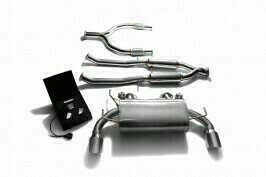 ARMYTRIX VALVE TRONIC EXHAUST to suit Nissan 370Z  2009 – present 3.7L VQ37VHR V6 with  Dual Chrome 4.5″ Tips