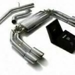 ARMYTRIX VALVE TRONIC EXHAUST to suit Audi  2013-present 2.0 Turbo S3 (8V)  Sportback  with  Quad Blue Coated 3.5″ Tips