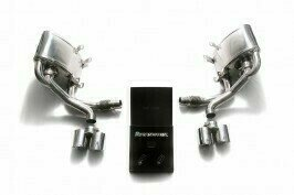 ARMYTRIX VALVE TRONIC EXHAUST to suit 997 MKI (911) 2004-2008  with   Quad Chrome 3.5″ Tips