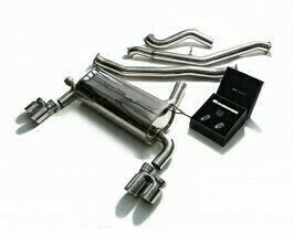 ARMYTRIX VALVE TRONIC EXHAUST to suit BMW F34 320/328 GT 2013-2015 / N20B20 with  Quad chrome 3.15″ Tips
