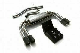 ARMYTRIX VALVE TRONIC EXHAUST to suit Audi  2013-present 2.0 Turbo S3 (8V)  Sedan with  Quad Carbon 3.5″  Tips