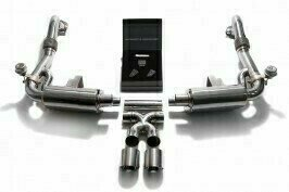 ARMYTRIX VALVE TRONIC EXHAUST to suit 718 2016 – present  2.0T / 2.5T Boxster / Boxster S Boxster GTS Cayman / Cayman S  Cayman GTS  with  Dual Matte Black 3.5″  Tips