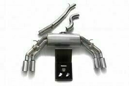 ARMYTRIX VALVE TRONIC EXHAUST to suit Audi TTS MKIII Quattro 2014-present (8S) 2.0 TFSI with  Quad Gold 3.5″  Tips