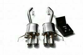 ARMYTRIX VALVE TRONIC EXHAUST to suit Corvette Z06  C7, 2014-2019 LT4 , 6.2L Supercharged V8 with  Quad Blue Coated 4″ Tips