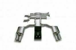 ARMYTRIX VALVE TRONIC EXHAUST to suit 971 Panamera ,  Panamera 4,  Panamera 4 Sport Turismo  2017-present  3.0 litre V6 turbo with  Quad Carbon  4″  Tips