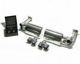 ARMYTRIX VALVE TRONIC EXHAUST to suit 997 MKI Turbo (911)  2006-2008  3.6L twin turbo coupe