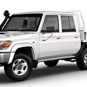 Outback Armour Kit to suit Toyota LC 79 Dual Cab 2012-ON V8