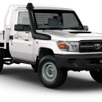 Outback Armour Kit to suit Toyota LC 79 SINGLE CAB 2016-ON V8
