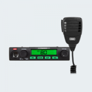 This Compact UHF CB radio is robust and reliable, ideal for serious commercial users.