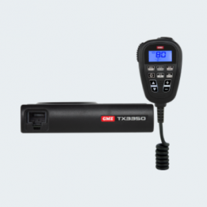 This super compact UHF CB radio is ideal for vehicles with limited cabin space.