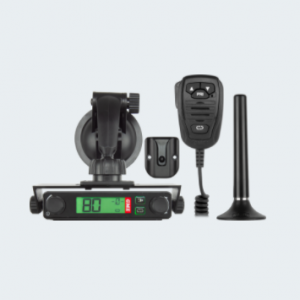 This Plug 'n' Play UHF CB radio boasts an installation time of less than 30 seconds.