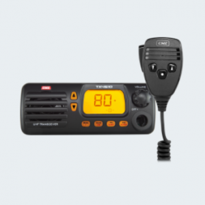 This IP67-rated UHF CB Radio is designed to perform in the most rugged environments.