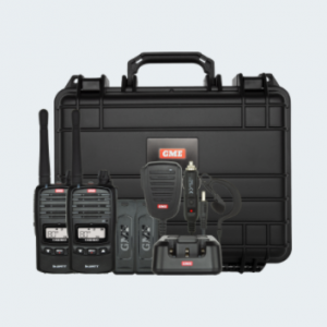 The TX6160 is the industry leader in UHF CB Handheld Radio communication, now available in a convenient Twin Pack.