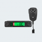 This super compact UHF CB radio is suitable for a wide range of applications.