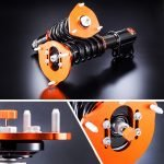 K-Sport Street Series Coilovers to suit HONDA  CIVIC EF CRX SINGLE CAM (Rr FORK) 89~91
