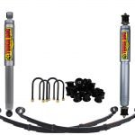 TOUGH DOG SUSPENSION KIT TO SUIT MITSUBISHI PAJERO NH 91-93 (NO OE STEERING DAMPENER MOUNTS)