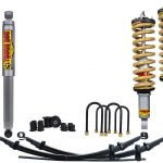 TOUGH DOG SUSPENSION KIT TO SUIT TOYOTA HILUX GUN125R, 126R, GGN125R COIL/LEAF (10/2015 On)