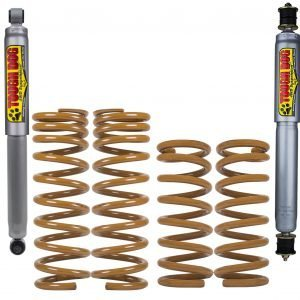 TOUGH DOG SUSPENSION KIT TO SUIT TOYOTA LANDCRUISER Bundeera 70 Series