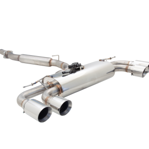 AUDI S3 8V HATCH 2013 ON STAINLESS STEEL 3″ CAT BACK EXHAUST SYSTEM