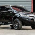 PIAK Protection to suit Side Step Off Track- AL Checker Plate  Anodized Black Mitsubishi Mitsubishi Pajero Sport QE 2016-2020
