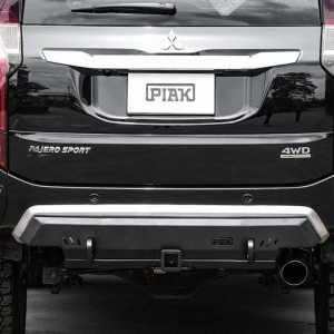 PIAK Protection to suit Compact Rear Towbar – Matte Black Recovery Points Mitsubishi Pajero Sport QE 2016-2020