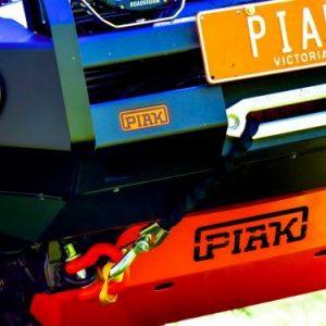 PIAK Protection to suit Underbody Protection_Orange Toyota Hilux 2005-2015