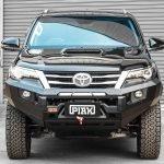 PIAK Protection to suit Fortuner 2015 Elite No Loop Bar Orange tow points, OrangeUnder Bod Protect
