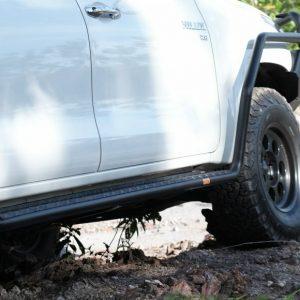 PIAK Protection to suit Side Rails  Premium Toyota Hilux Double Cab 2015-2020