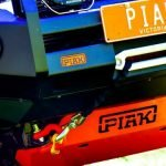 PIAK Protection to suit Underbody Protection_Orange Toyota Hilux 2018-2020 (fits Elite Bar 16-20)