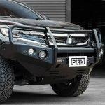 PIAK Protection to suit 3 Loop Premium Winch Bar Mitsubishi Pajero Sport QE 2016-2020 (Keep OE water bottle)