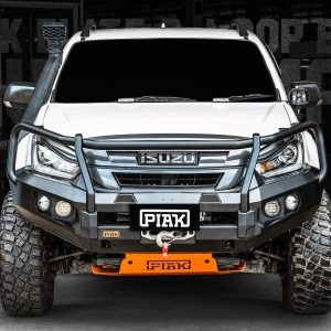 PIAK Protection to suit Isuzu Dmax 17-20  Elite Post Bar Orange tow points