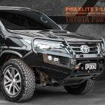 PIAK Protection to suit Fortuner 2015 Elite Post Bar Orange tow points, Orange Under Bod Protect