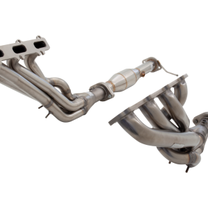 FORD FALCON BA-BF XR8 SEDAN 2003-2007 NON POLISHED STAINLESS STEEL STEEL HEADERS & METALLIC 2-1/2″ CATS