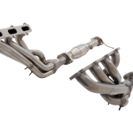 FORD FALCON BA-BF XR8 UTE 2003-2007 NON POLISHED STAINLESS STEEL STEEL HEADERS & METALLIC 2-1/2″ CATS