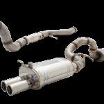 FORD FALCON BA-BF XR6 TURBO SEDAN 2003-2007 4′ DUMP PIPE 3.5″ TURBO-BACK SYSTEM RAW 409 STAINLESS STEEL