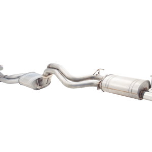 FORD FALCON FG XR8 SEDAN 2008-2011  DUAL 2.5′ CAT BACK SYSTEM RAW 409 STAINLESS