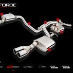 FPV FALCON BA GT/GT-P 2003-2005 TWIN 2.5″ QUAD TIP OUTLET NON-POLISHED SYSTEM STAINLESS STEEL