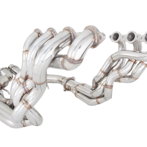 HOLDEN CALAIS 2006-2013 VE V8 SEDAN / WAGON 4-1 1-3/4″ PRIMARY LONG TUBE 3″ OUTLET HEADER WITH 3″ METALLIC CAT CONVERTER POLISHED STAINLESS STEEL