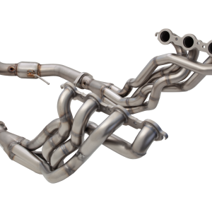 HOLDEN CALAIS 2006-2013 VE V8 SEDAN / WAGON 4-1 1-3/4″ PRIMARY LONG TUBE 3″ OUTLET HEADER WITH 3″ METALLIC CAT CONVERTER NON-POLISHED STAINLESS STEEL