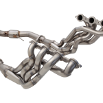 HSV E1-SERIES MALOO 2006-2008 4-1 1-3/4″ PRIMARY LONG TUBE 3″ OUTLET HEADER WITH 3″ METALLIC CAT CONVERTER NON-POLISHED STAINLESS STEEL