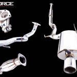 MITSUBISHI EVO 7,8,9 2001-07 STAINLESS STEEL 3″ TURBO-BACK EXHAUST SYSTEM
