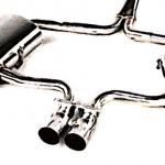 MINI COOPER S 2004-06 TWIN 1.5″ REAR MUFFLER