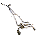 NISSAN 350Z 2003-2009 2.5″ CAT-BACK SYSTEM STAINLESS STEEL