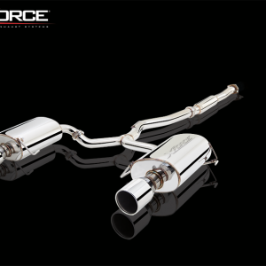 SUBARU LIBERTY GEN 4 GT 2006-09 NON-POLISHED STAINLESS STEEL 3″ CAT-BACK SYSTEM