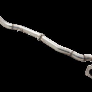 SUBARU IMPREZA WRX SEDAN 2L FA20 2015-2017 STAINLESS STEEL DUMP PIPE WITH 3″ 100 CELL METALLIC CAT