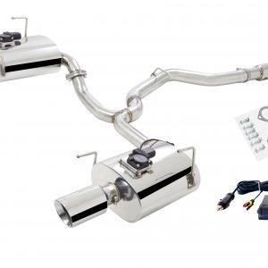 SUBARU FORESTER XT (SH) 2009-2012 3″ CAT-BACK SYSTEM STAINLESS STEEL WITH VAREX MUFFLERS