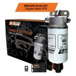 PRELINE-PLUS PRE-FILTER KIT HILUX N70 2005-2015 3.0L Diesel (PL612DPK)
