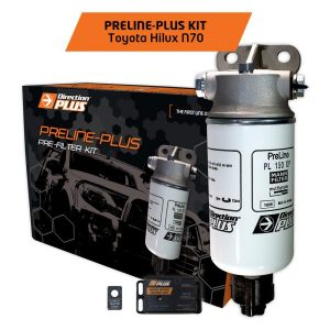 PRELINE-PLUS PRE-FILTER KIT HILUX N70 2005-2015 3.0L Diesel (PL612DPK)